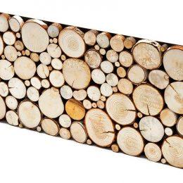 pjaustytas medis sienoms