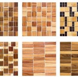 medinė mozaika