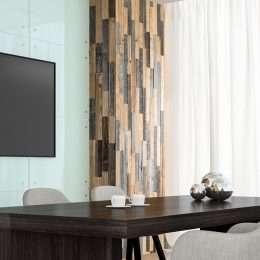 skirtingu spalvu siena